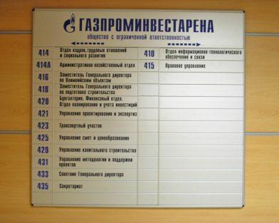 Стенд Газпроминвестарена