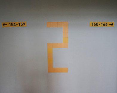 ЖК Юттери - указатели квартир и этажей